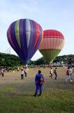5th Putrajaya hoade luftar ballongfiestaen 2013 Arkivfoton