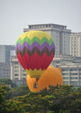 5th Den hoade Putrajaya landskampen luftar ballongfiestaen 2013 Arkivfoton