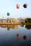 5th Putrajaya hoade luftar ballongfiestaen 2013 Royaltyfria Bilder