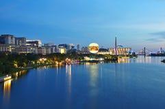 Putrajaya Malaysia. Night scenery at Putrajaya, Malaysia Royalty Free Stock Photography