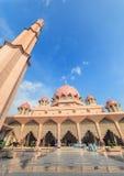 Putra Mosque - Putrajaya - Malaysia. Putra Mosque at Putrajaya, Malaysia Royalty Free Stock Image