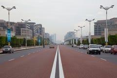PUTRAJAYA, MALAYSIA - SEP, 28: Road infront of Malaysian Prime M Stock Photo