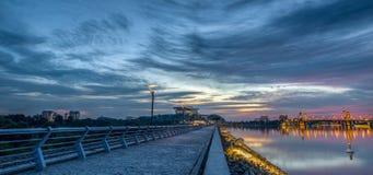 Putrajaya, Malaysia Sunset III Stock Images