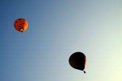 PUTRAJAYA, MALEISIË - MAART 14, Hete luchtballon tijdens de vlucht bij de 7de Internationale Fiesta 14 Maart, 2015 van de de Hete Stock Foto's