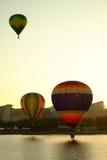 PUTRAJAYA, MALEISIË - MAART 14, Hete luchtballon tijdens de vlucht bij de 7de Internationale Fiesta 14 Maart, 2015 van de de Hete Stock Foto