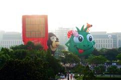 quinti Festa 2013 del pallone di aria calda di Putrajaya Immagine Stock