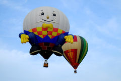 Putrajaya Malezja, Marzec, - 12, 2015: 7th Putrajaya gorącego powietrza Międzynarodowy balon Fiesa w Putrajaya, Malezja Obrazy Royalty Free
