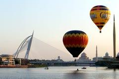 Putrajaya Mi?dzynarodowy Gor?cego Powietrza Balonu Fiesta zdjęcia royalty free