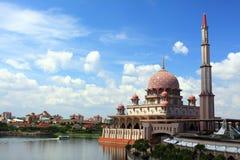 Putrajaya-Moschee Lizenzfreie Stockfotografie