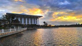 Putrajaya-Moschee Stockbild