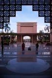 Putrajaya-Moschee, Kuala Lumpur, Malaysia. lizenzfreies stockbild