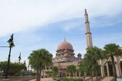 Putrajaya Mosque Royalty Free Stock Photos