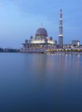 Putrajaya Mosque Royalty Free Stock Images
