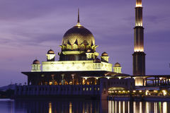 Putrajaya Mosque Stock Photography