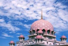 Putrajaya Mosque Stock Photo