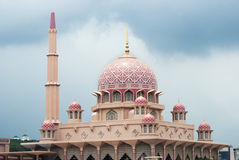 Putrajaya Mosque Royalty Free Stock Image