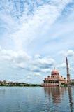 Putrajaya Mosque Royalty Free Stock Photo