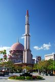 Putrajaya mosque Stock Image