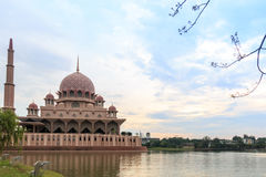 Putrajaya Mosque Royalty Free Stock Photo