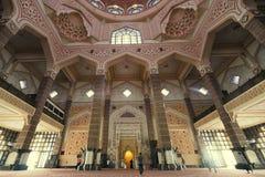 Putrajaya Mosque Stock Images