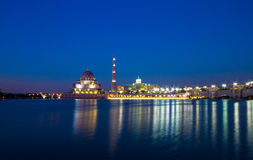 Putrajaya mosque Royalty Free Stock Image