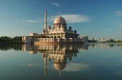 Putrajaya Mosque, Malaysia Royalty Free Stock Images