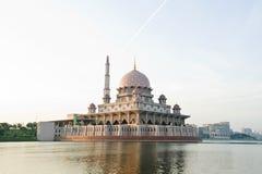 Putrajaya Mosque Malaysia Stock Photo