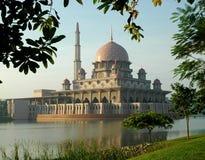 Putrajaya Mosque in Malaysia Stock Photo