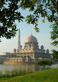 Putrajaya Mosque in Malaysia. A mosque in Malaysia, captured in the morning Stock Image