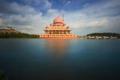 Putrajaya Mosque. Taken in Putrajaya, Malaysia.located in the presint 1 royalty free stock images
