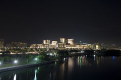 Putrajaya na noite Imagens de Stock