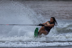 Putrajaya Nautique Ski & Wake Championships 2014 Royalty Free Stock Photography