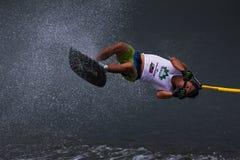 Putrajaya Nautique skidar & vaknar mästerskap 2014 Arkivfoton