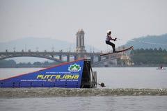 Putrajaya Nautique skidar & vaknar mästerskap 2014 Royaltyfri Bild