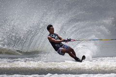 Putrajaya Nautique skidar & vaknar mästerskap 2014 Royaltyfria Foton