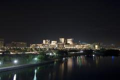 Putrajaya at night Stock Images