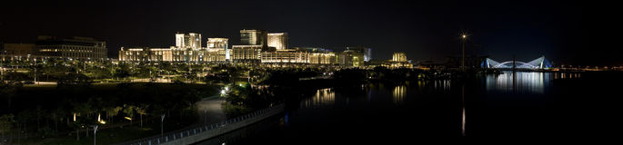 Putrajaya-Panorama Lizenzfreies Stockbild