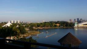 Putrajaya Pullman Resort Lake Stock Photo