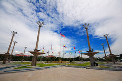 Putrajaya-Quadrat Stockfoto