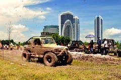 Putrajaya 4x4 utmaning Arkivbild