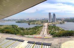 Putrajaya wagonu sypialnego brzeg jeziora Obraz Royalty Free