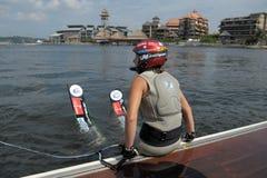 Putrajaya Water Ski World Cup 2008 Stock Image