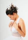 Putsa för ung kvinna Royaltyfri Fotografi
