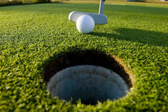 putt гольфа Стоковая Фотография RF