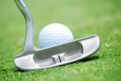 Putt Royalty Free Stock Images