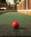 Putt-Putt Golf Royalty Free Stock Images