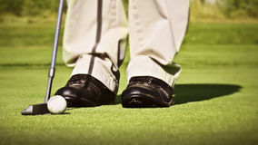 Putt Royalty Free Stock Photos