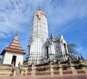 Puttaisawan寺庙的普朗在阿尤特拉利夫雷斯,泰国 库存图片