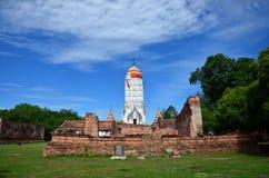 Puttaisawan寺庙的普朗在阿尤特拉利夫雷斯,泰国 库存照片