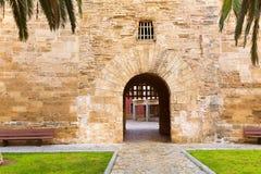 Puttana Mallorca del DES di Alcudia Città Vecchia Maiorca Porta Fotografie Stock